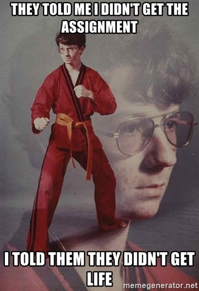 PTSD Karate Kyle - They told me I didn't get the  assignment I told them they didn't get life