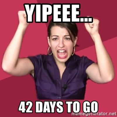 FeministFrequently - yipeee... 42 days to go