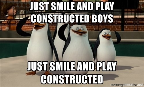 Madagascar Penguin - Just smile and play constructed boys Just smile and play constructed