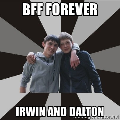 Typical Brothers - BFF Forever Irwin and Dalton