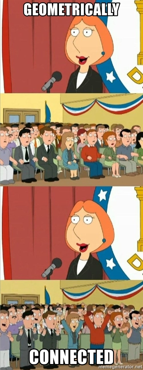 Lois Griffin - geometrically connected
