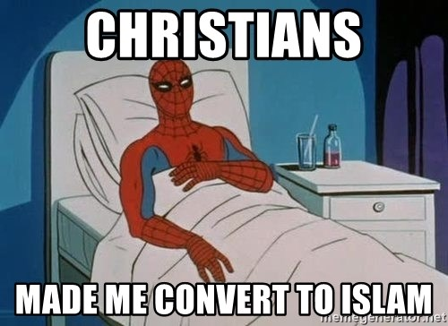 spiderman hospital - CHRISTIANS made me convert to islam