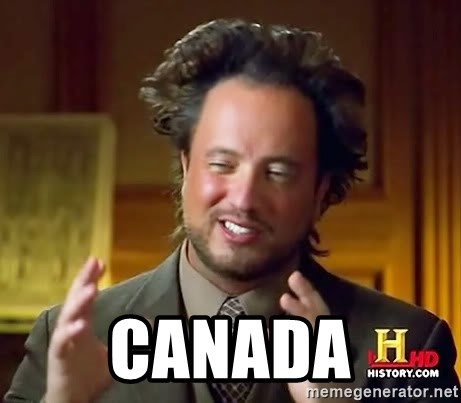 Ancient Aliens -  CANADA