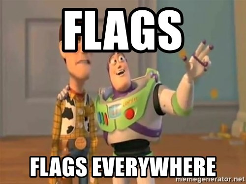 X, X Everywhere  - Flags Flags everywhere