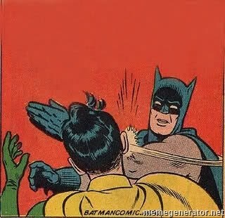 batman slap robin -