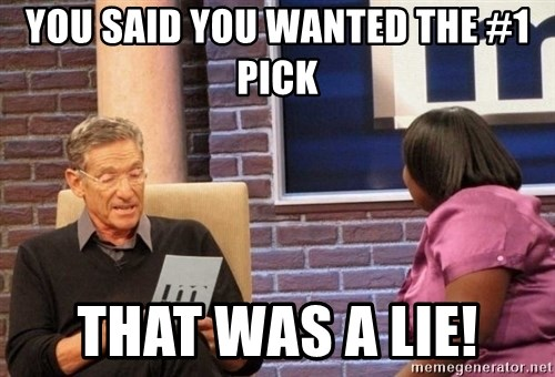 Maury Lie Detector - You said you wanted the #1 pick That was a lie!