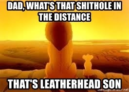 The Lion King - Dad, What's That shithole in the distance That's leatherhead son
