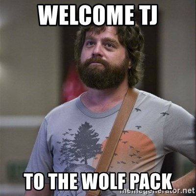 Alan Hangover - Welcome TJ To The Wolf Pack