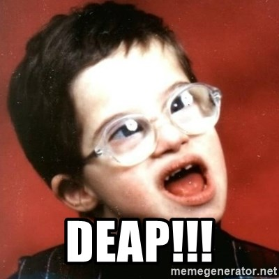 retarded kid with glasses -  DEAP!!!