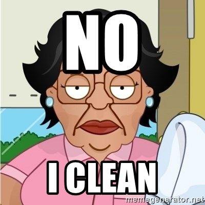 Consuela - no i clean