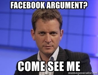 Jeremy Kyle - Facebook argument? Come see me