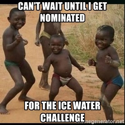 Dancing black kid - Can't wait until I get nominated For the ice water challenge