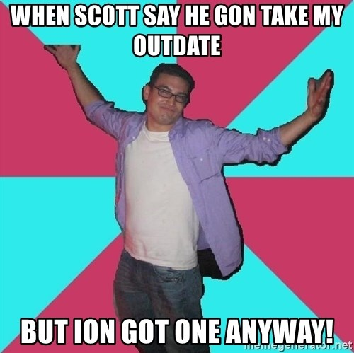 Douchebag Roommate - when scott say he gon take my outdate but ion got one anyway!