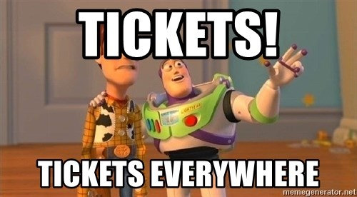 Consequences Toy Story - Tickets! Tickets Everywhere