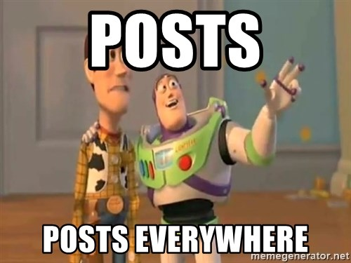 X, X Everywhere  - Posts Posts Everywhere