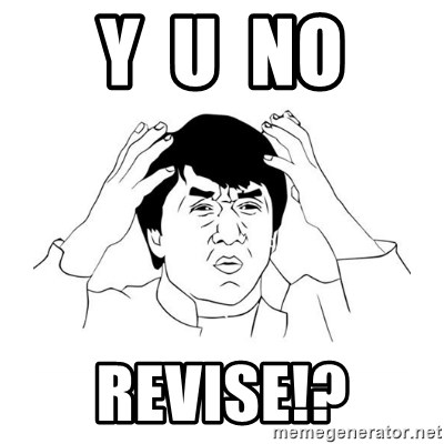 jackie chan meme paint - Y  U  NO REVISE!?