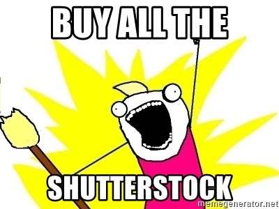X ALL THE THINGS - BUY ALL THE SHUTTERSTOCK
