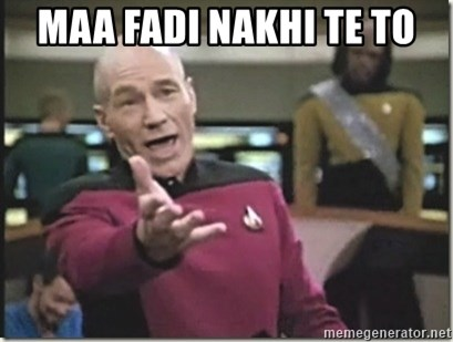 star trek wtf - MAA fadi nakhi te to
