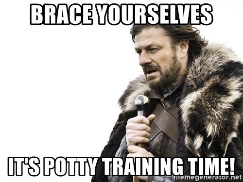 Winter is Coming - Brace yourselves It's potty training time!