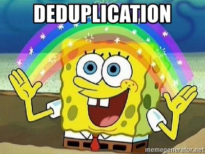 Imagination - DEDUPLICATION