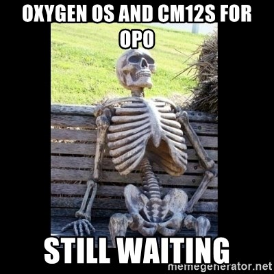 Still Waiting - Oxygen OS and CM12S for OPO Still Waiting