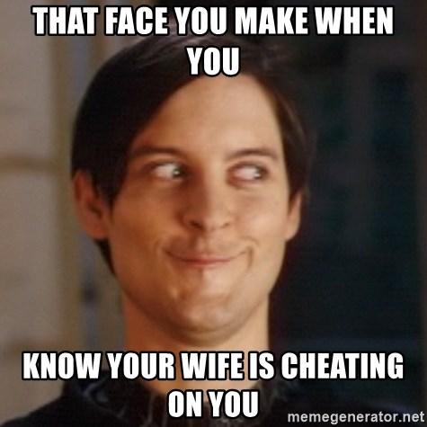 how to tell your wife you know she is cheating
