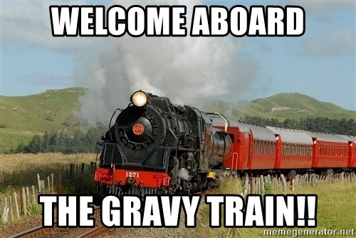 Image result for gravy train