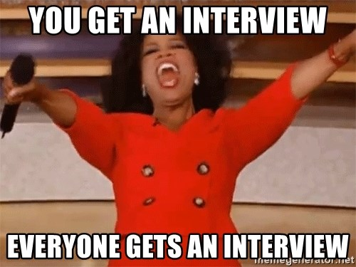 Image result for oprah interview meme