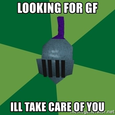 Runescape Advice - LOOKING FOR GF ILL TAKE CARE OF YOU