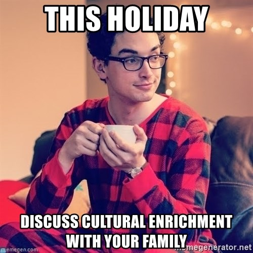 This Holiday Discuss Cultural Enrichment With Your Family