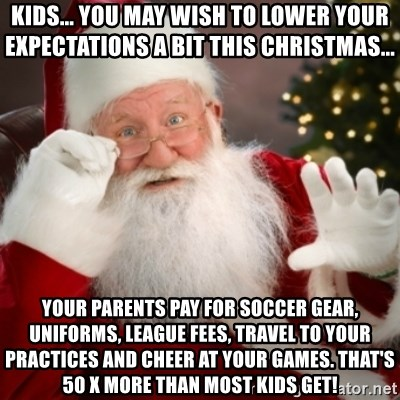 Kids you may wish to lower your expectations a bit this for What to get your parents for christmas
