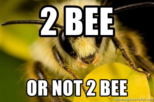 Animal Pun Meme Bee Think The Cross Pollination Of Movie Into
