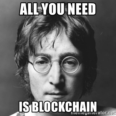 John Lennon - All you need Is blockchain