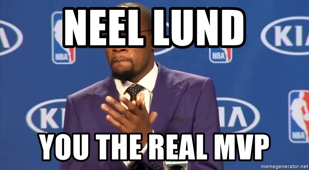 KD you the real mvp f - Neel Lund You the Real MVP