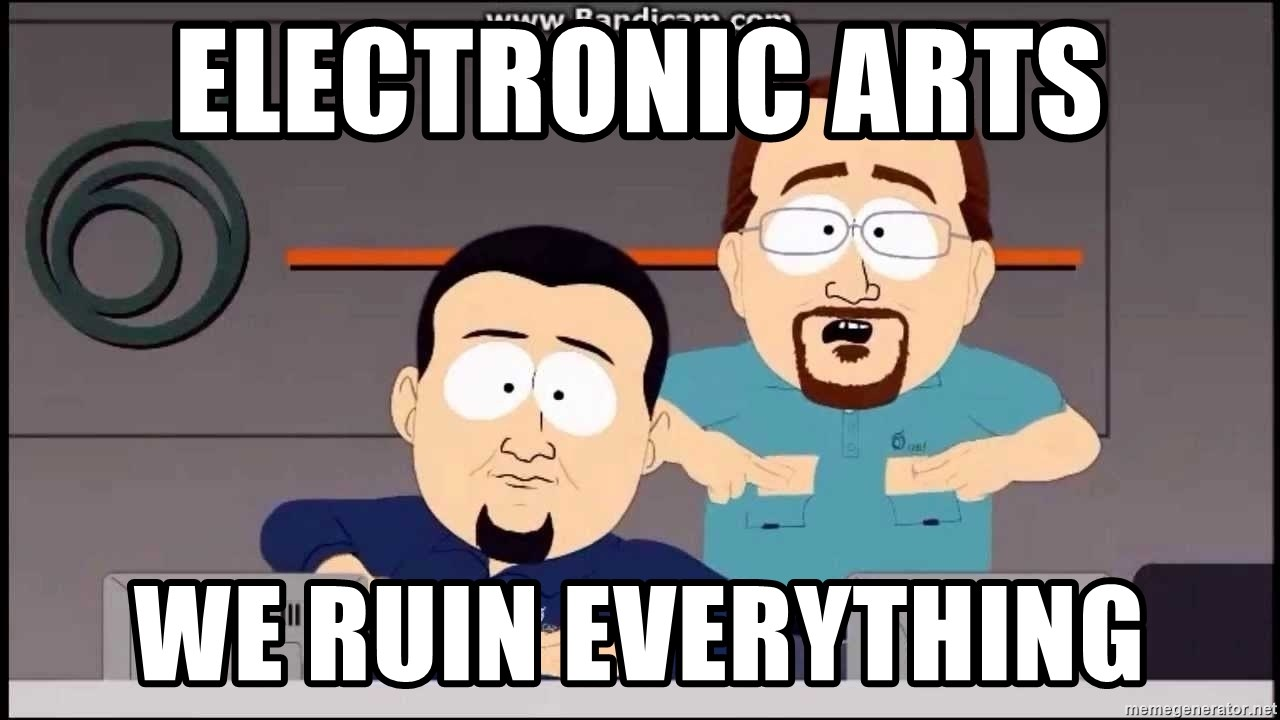 South Park Cable company - Electronic arts we ruin everything
