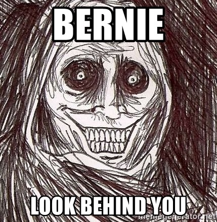Shadowlurker - Bernie Look behind you