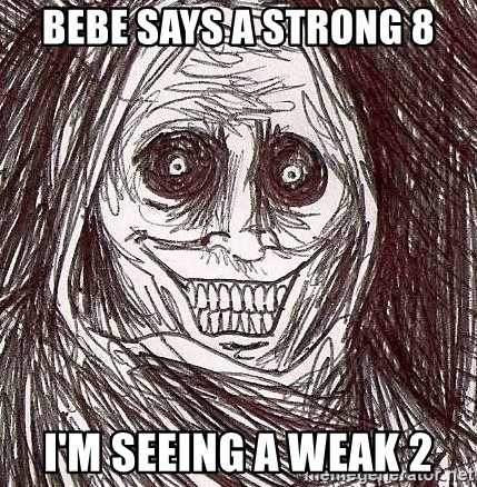 Shadowlurker - Bebe Says A Strong 8 I'm Seeing A Weak 2