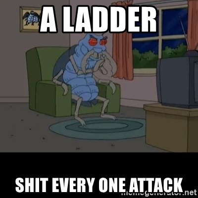 Family Guy Beetle - A ladder  Shit Every one attack
