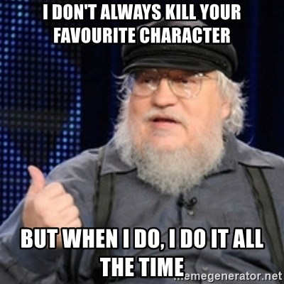 Image result for killing your favourite character on tv