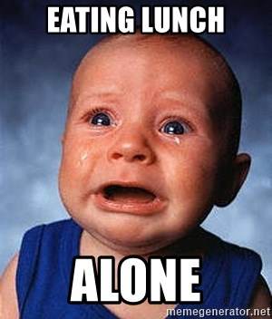 Crying Baby - Eating Lunch Alone