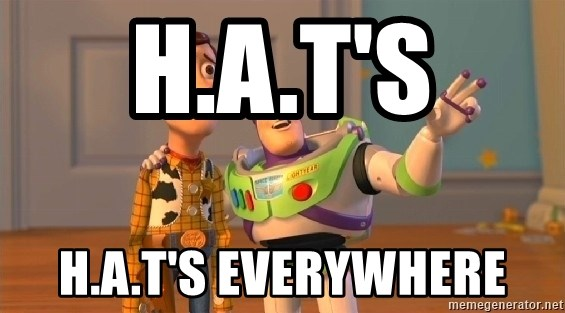 Woody & Buzz... Everywhere - H.a.t's H.a.t's everywhere