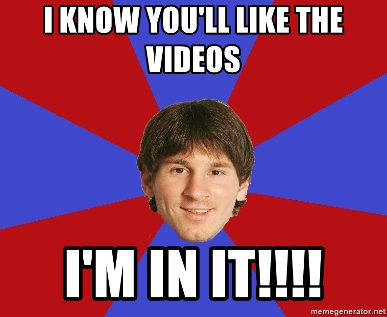 Messiya - I know you'll like the videos I'm in it!!!!