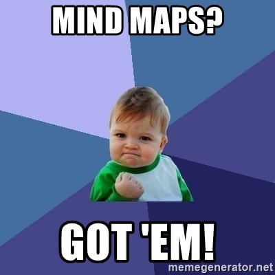 Success Kid - MIND MAPS? GOT 'EM!