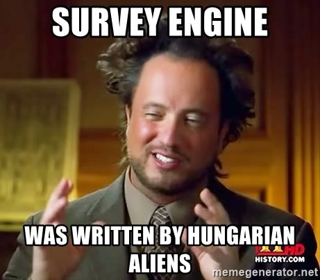 Ancient Aliens - Survey Engine was written by Hungarian Aliens