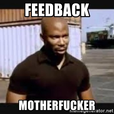 James Doakes surprise - FEEDBACK MOTHERFUCKER