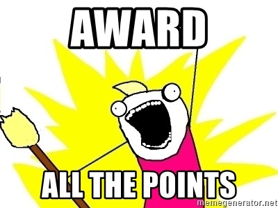 X ALL THE THINGS - AWard All the Points
