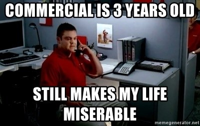 Jake From State Farm - commercial is 3 years old Still makes my life miserable