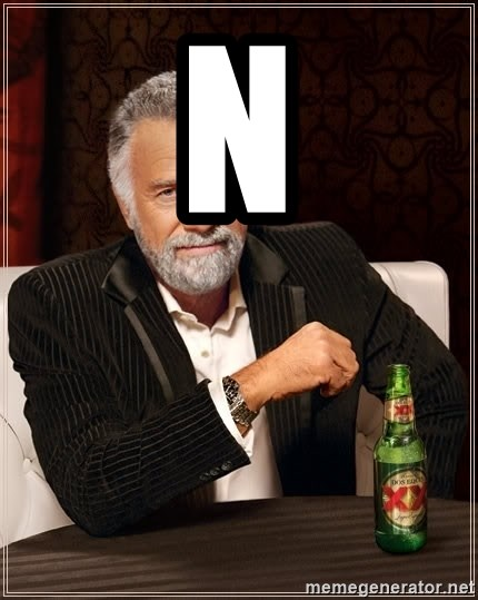 The Most Interesting Man In The World - N