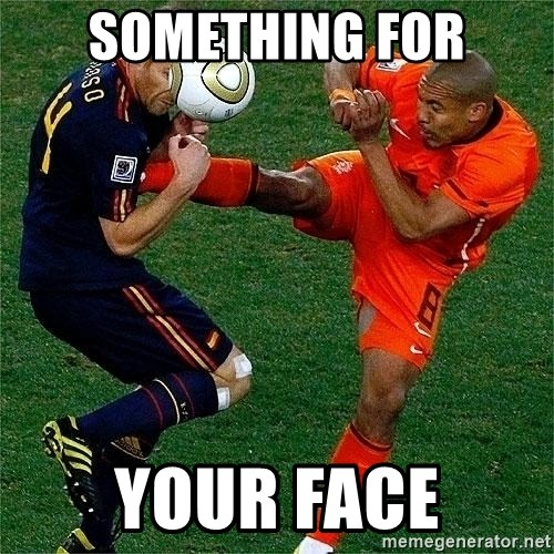 Netherlands - something for your face