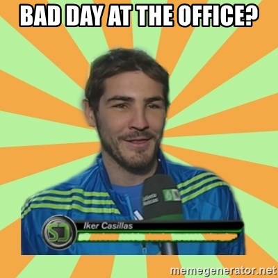 Iker Casillas - Bad day at the office?
